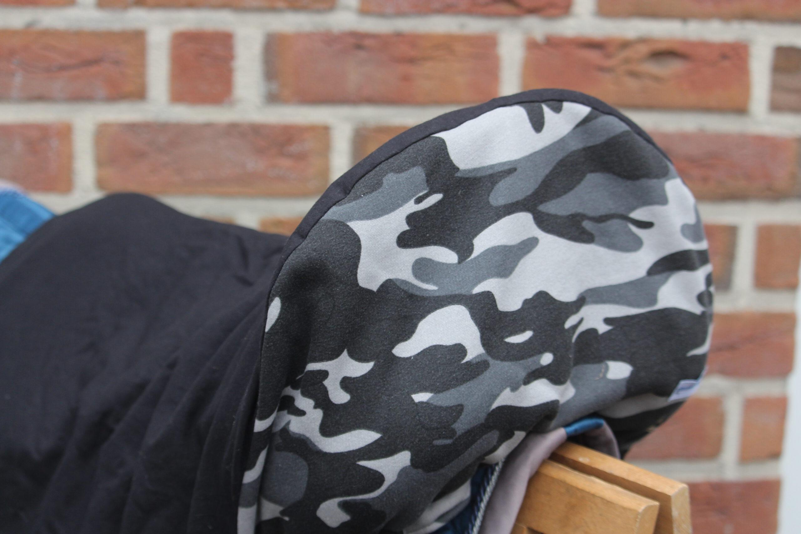 Sattelschoner Camouflage
